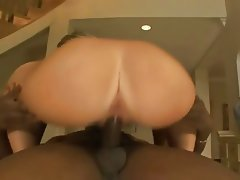 Blonde, Cumshot, Interracial, Pornstar