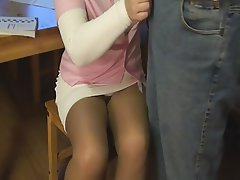 Femdom, Mistress, Pantyhose, Stockings