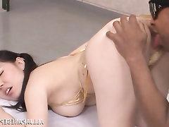 Asian, Babe, Big Tits, Ebony, Blowjob