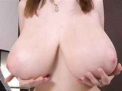 Babe, Big Tits, Ebony, Blowjob, Stockings