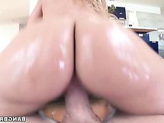 BBW, Big Ass, Big Cock, Blowjob, Cumshot