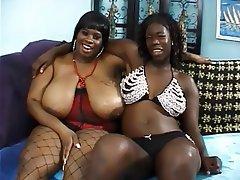 BBW, Big Boobs, Lesbian