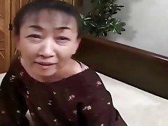 Facial, Granny, Hairy, Japanese