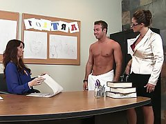 MILF, Teacher, Office, Pornstar